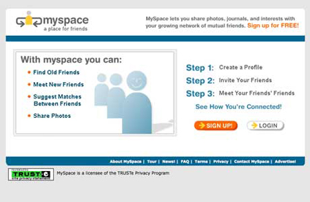 Myspace then