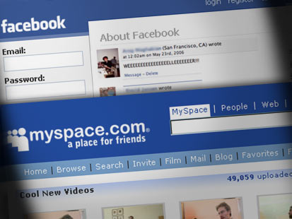 MySpace to integrate Facebook Connect