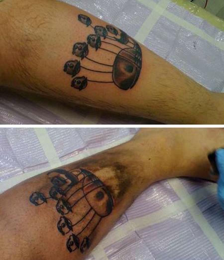 Fail whale tattoo