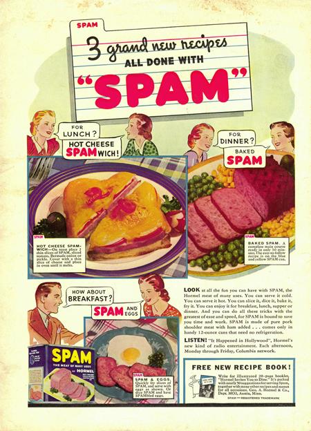 Spam vintage