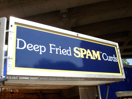 Deep Fried Spam