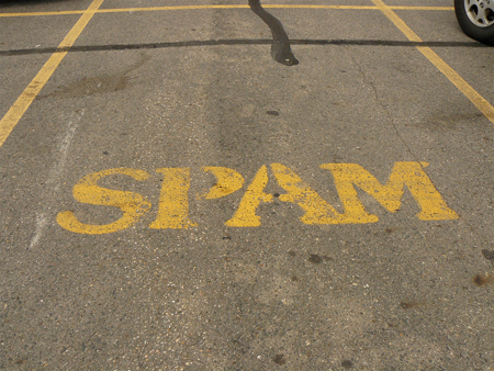 Spam Parking Only