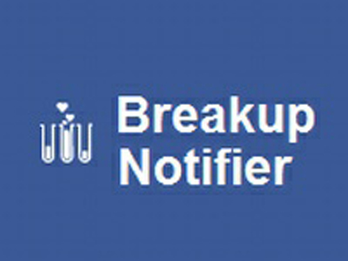 breakup notifier logo