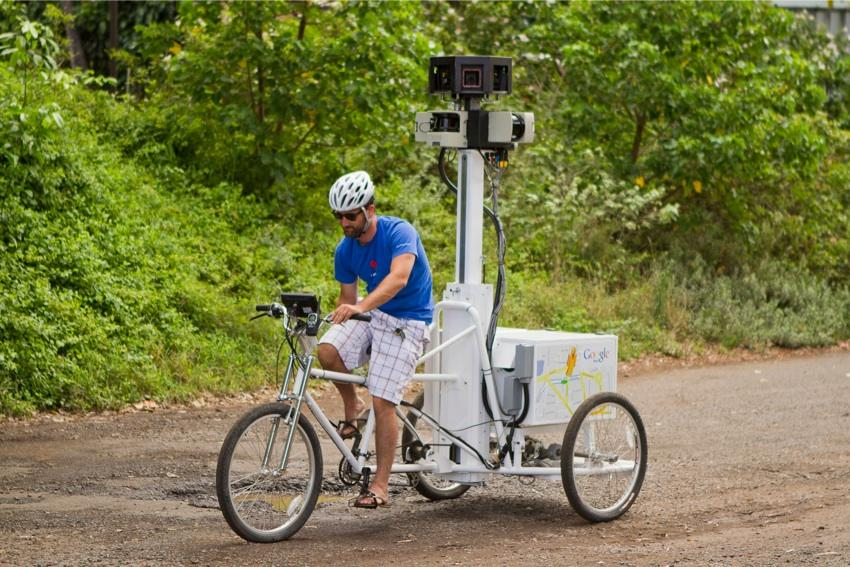 google trike in hawaii