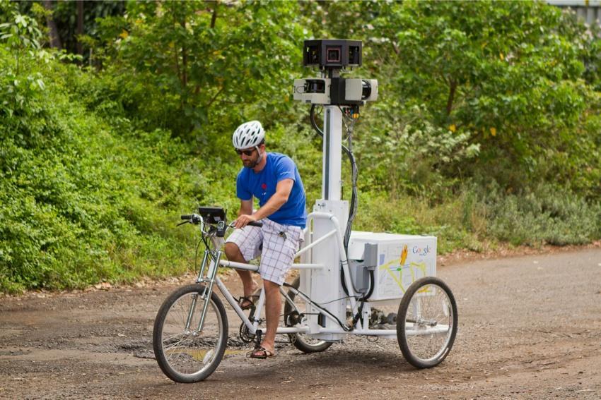 google trike in hawaii