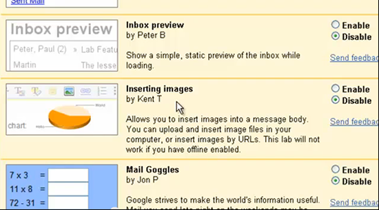 Directly Paste Images in Gmail